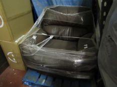 Polaski manual reclining armchair, the colur is fading in a few spots.