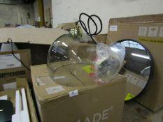| 1X | MADE.COM BOW PENDANT LIGHT | UNCHECKED WITH ORIGINAL BOX | RRP £69 |
