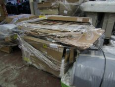 | 1X | PALLET OF MADE.COM RAW RETURNS MOST OF WHICH LOOKS LIKE BED AND WORDROBE PARTS | CUSTOMER