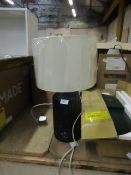 | 1X | MADE.COM KAE CONRETE TABLE LAMP | UNCHECKED WITH ORIGINAL BOX | RRP £49 |