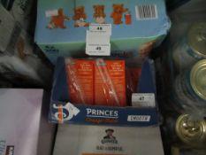 Princes Orange Juice 24 x 200ml best before 11/2021