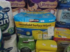 Kirkland Household Surface Wipes 4 Packs new and packaged