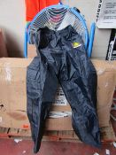 Deltaplus - Navy Overtrousers (WaterProof) - Size Large - Unused & Packaged.