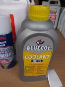 4x Bluecol - OE 05 Coolant Heavy Duty - 1 Litre - Unused.