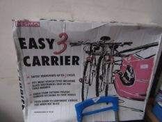 Desmo - Easy 3 Bicycle Carrier (Transports Upto 3 Bicycles) - Unchecked & Boxed.