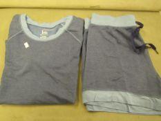 Jezebel 2PC Lounge /Pyjama Set Blue Size S Look Unworn No Packaging