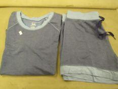 Jezebel 2PC Lounge /Pyjama Set Blue Size X/L Look Unworn ( Not in Original Packaging )