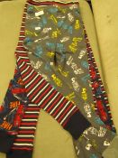 4 X Pairs of Various Themed Childrens Leggings 3 Aged 5 yrs 1 Aged 7 yrs Look Unworn No Packaging