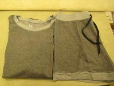 Jezebel 2PC Lounge /Pyjama Set Grey Size M Look Unworn ( Not in Original Packaging )