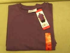 Fila T/Shirt Size M Gotic Grape Colour New With Tags