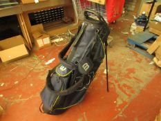 Wilson Staff Golf Bag RRP £79.99 (slightly used no visible signs of damage)