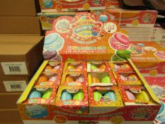 1 x Box of 12 Packs of 2 Macarons Slime - New & Boxed.