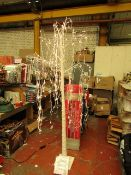 1 x LED Willow Tree Indoor/Outdoor use, 2.1m 288 LED Lights with Twinkle option.RRP £125 @ Costco