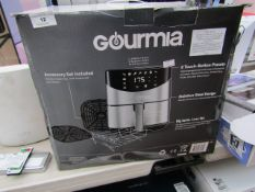 Gourmia RadiVection 360 degrees Technology air fryer, tested working and boxed.