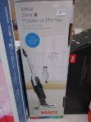 Bosch Athlet Serie 6 Pro Silence 28v Max vacuum cleaner, tested working and boxed. RRP £249