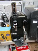 Nespresso espresso machine, powers on but not tested all functions and missing parts such as the