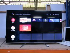 """TCL 55"""" 55C715K QLED 4K Ultra HD Smart Android TV, tested working for main function (screen"""