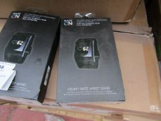 Pulse On heart rate wrist band, new and boxed.