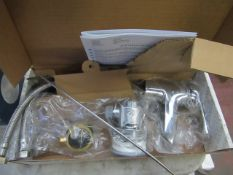 Roca Monojet basin mixer, new and boxed.