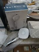 Ideal Standard Idealrain Evo shower head, new and boxed.