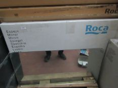 Roca Dama-N wall mirror, approx 1000mm, new and boxed. RRP £130