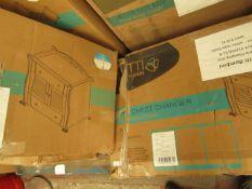 | 1x | TUTTI BAMBINI MARIE CHANGING UNIT CHEST WHITE MATT FINISH | 2 BOXES | UNCHECKED & BOXED | SKU