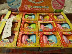 Macarons Slime - 6 Various Slimes - ( Box of 12) Unused & Boxed.