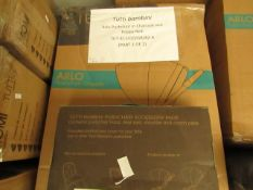 |1x | TUTTI BAMBINI ARLO PUSHCHAIR IN CHARCOAL & POPPY RED | 2 BOXES | UNCHECKED & BOXED | SKU TUT-