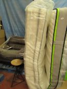   1X   SILENT NIGHT MELODY POCKET 2800 KING SIZE MATTRESS   EXDISPLAY AND DOES HAVE SOME DIRTY MARKS