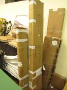   1X   PICKMERE KING SIZE GREY WOODEN BED FRAME   UNCHECKED FOR ALL PARTS, COMES IN 2 BOXES  