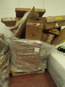   1X   PALLET OF MADE.COM RAW RETURNS ALL COMPLETELY UNCHECKED   CUSTOMER RETURNS  