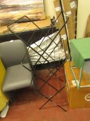   1X   MADE.COM MOSS 3 TIER CLOTHES AIRER   BOXED AND UNCHECKED   RRP £20  