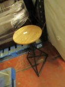   1X   SWOON THIBAUT POWDER COATED STOOL   NO MAJOR DAMAGE BUT MAY HAVE MARKS AND SCUFFS   RRP £