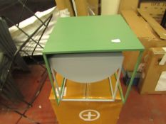   1X   MADE.COM EMIRA SET OF 2 SIDE TABLES   BOXED AND UNCHECKED   RRP £79  