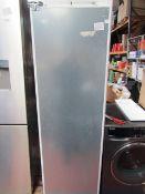 Neff KI1813FE0G N70 Built-in Fridge Fixed hinge, tested working. RRP £1098, missing interior shelves