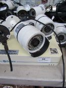 Swann NVR & 3x Swann cameras, All unchecked. Please note, this lot may be missing power cables,