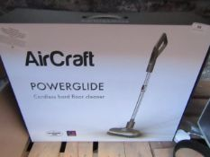 AirCraft PowerGuide Cordless hard floor cleaner tested working and boxed