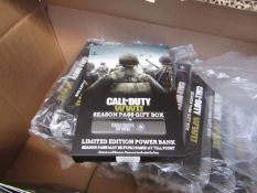 5x Call of duty ww2 season pass gift box, New & Boxed,only contains power bank