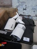 Swann NVR & 2x Swann cameras, All unchecked. Please note, this lot may be missing power cables,