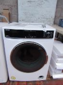 Sharp ES-HFH9148W3 A+++ Rated Freestanding Washing Machine, no power. RRP £239.99