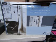 Basia 3 Light Floor Lamp untested and boxed