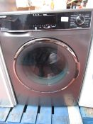 Sharp ES-HFH9148A3 9Kg washing machine, powers on but displays fault code. RRP £349