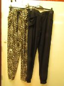 2 X Pairs of French Dressing Ladies Lounge Pants Size S New