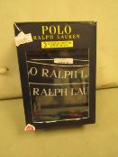 3 Pairs of Ralph Lauren Boxer Shorts Size X/L New & Boxed