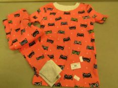 Kirkland Signature Girls Pyjama Set Aged 3T ( New But No Packaging)