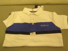 Ben Sherman Polo T/Shirt Aged 8-9 yrs New With Tags