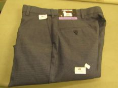 Kirkland Signature Mens Custom Fit Trouser 30 X 30 New With Tags