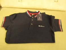 Ben Sherman Polo T/Shirt Aged 10-11 yrs New With Tags