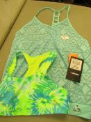 Childs 2PC Swim Tops Age 12yrs ( Was 3PC But Bottoms Are Missing ( New With Tags