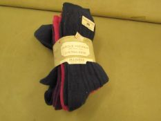 PK of 4 Carole Hochman Socks Size 2-8 New & Packaged